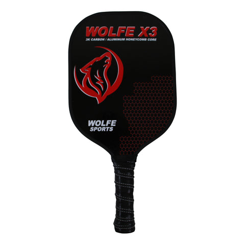 Wolfe X3 - 3K Carbon Fiber and Graphite with an Edge