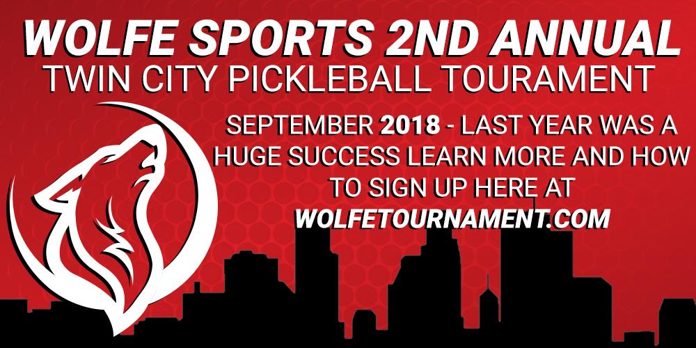 Wolfe Pickleball Tournament 2017