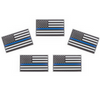 Set of 5 Police lapel pins