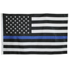 Image of 3' by 5' Thin Blue Line American flag