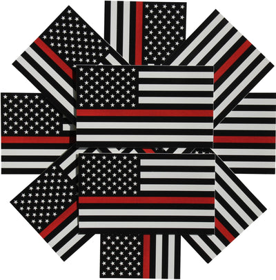 Redline Tactical Rescue first responder stickers 10- pack