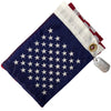 12x18 US Flag with Dog Tag