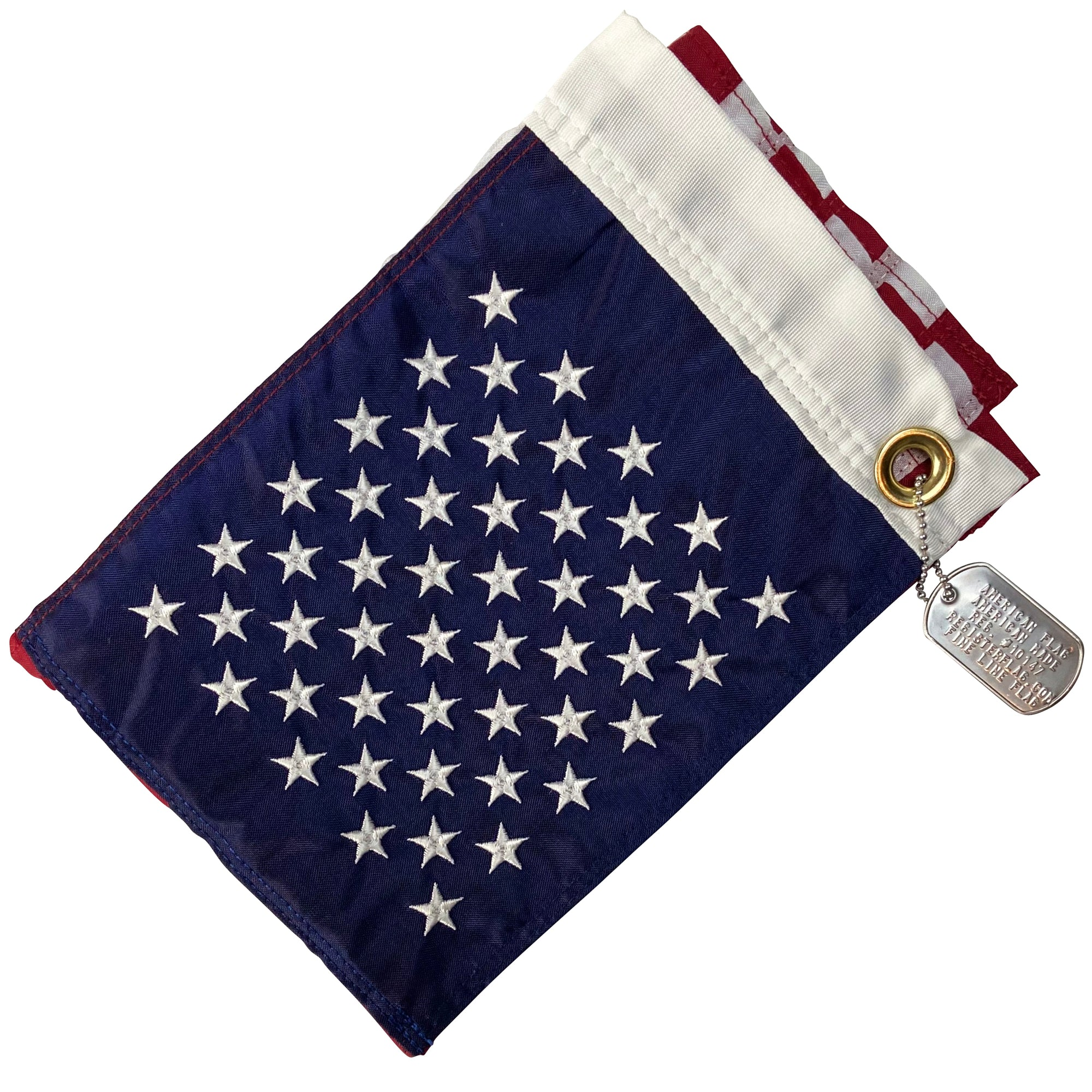 "<strong>Captain</strong><br> 12""x18"" American Flag - Made in USA"