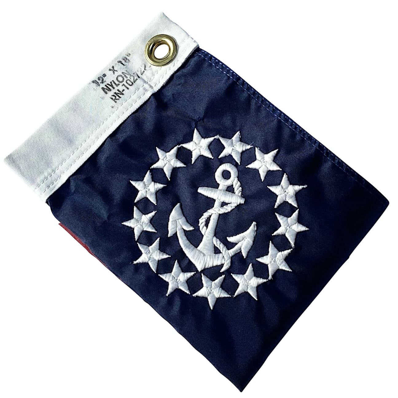 "<strong>Admiral</strong><br> 12""x18"" Yacht Flag - Made in USA"