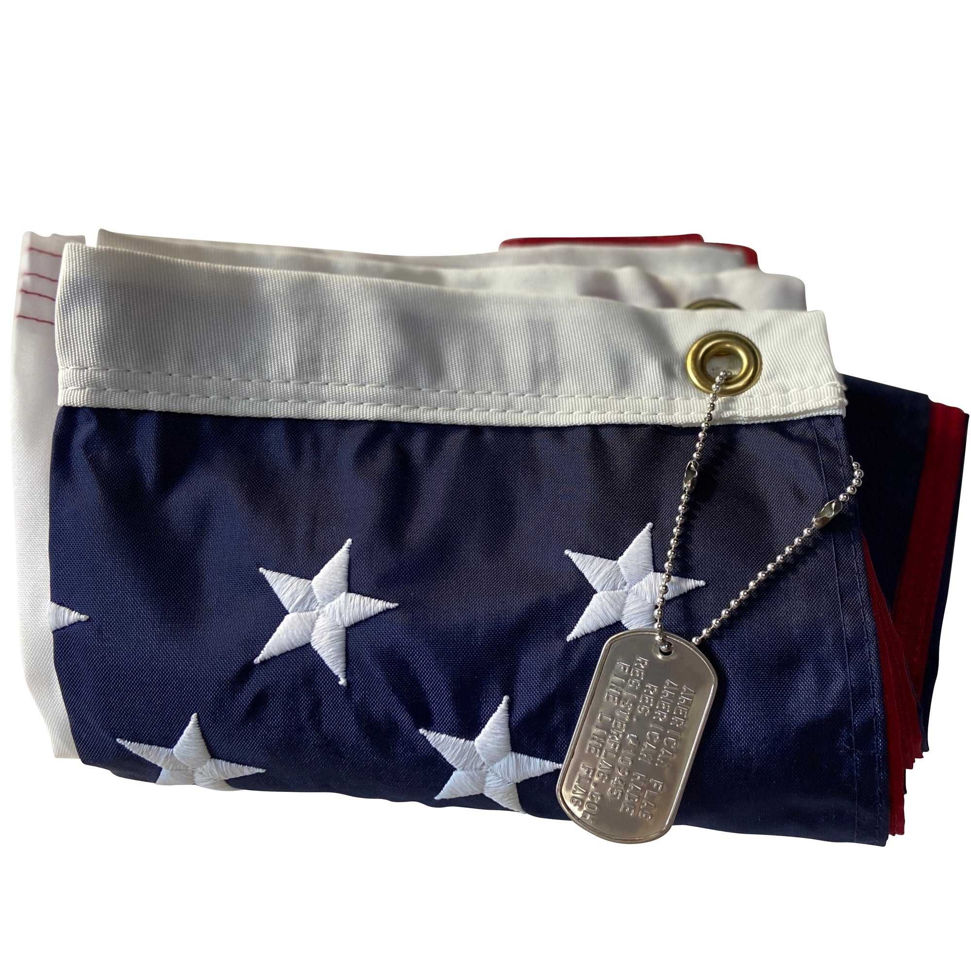 <strong>Lieutenant</strong><br> 2.5x4 American Flag - Made in USA