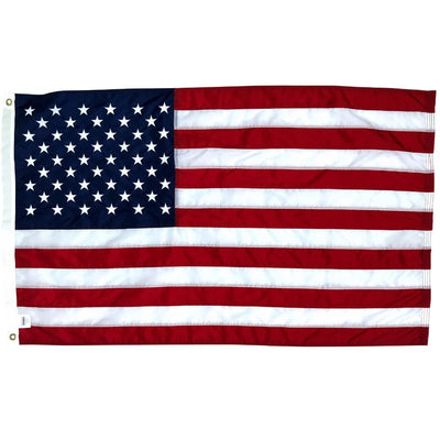 2.5x4 foot US flag with grommets