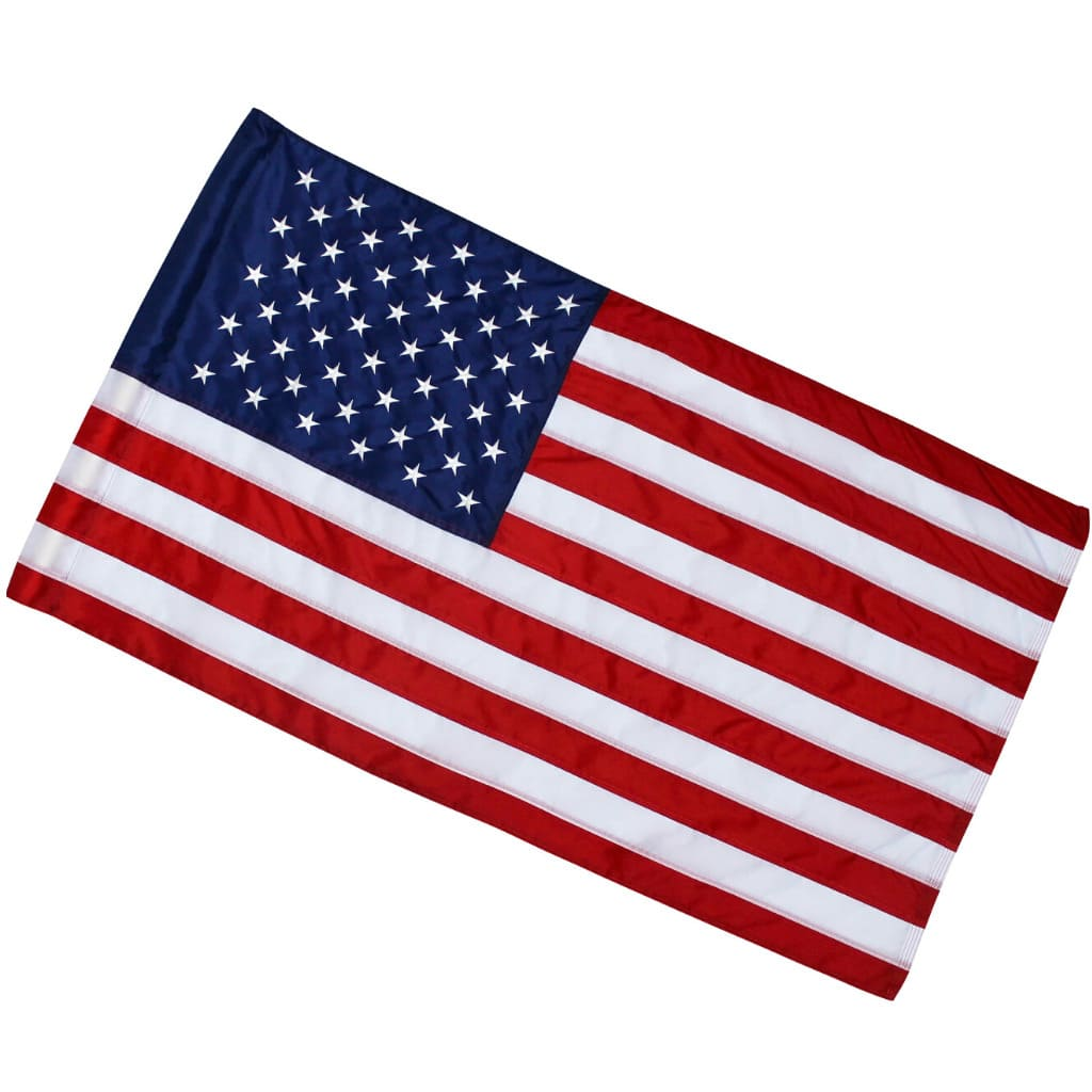 <strong>Major</strong><br> 2.5x4 American Flag (Pole Sleeve) - Made in USA