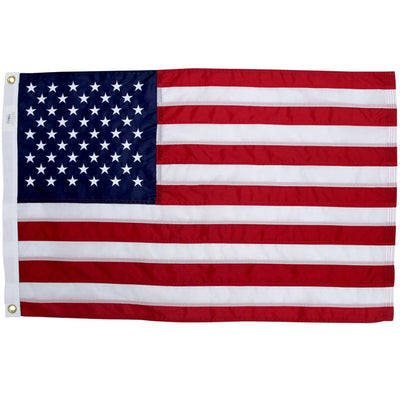 2x3 Foot American Flag with grommets