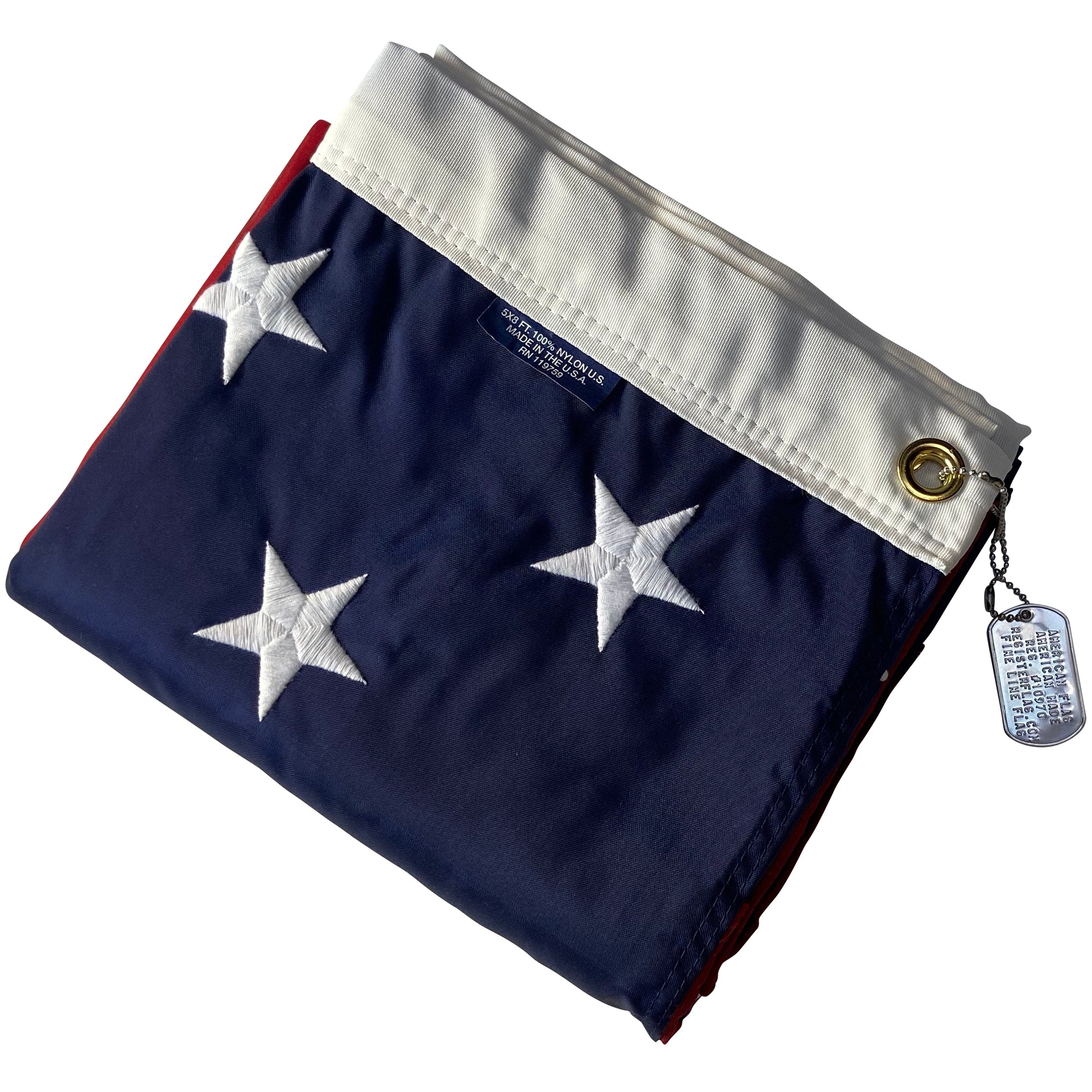 <strong>The General</strong><br> 5x8 American Flag - Made in USA