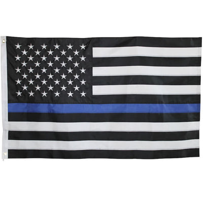 3x5 foot Thin Blue Line American Flag