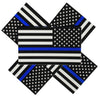 pack of 5 police decals for cars and trucks