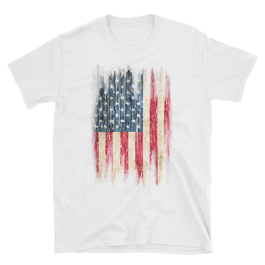Watercolor Flag T-Shirt