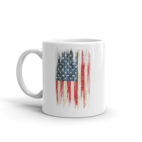 Watercolor Flag Mug