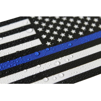 Waterproof thin blue line sticker