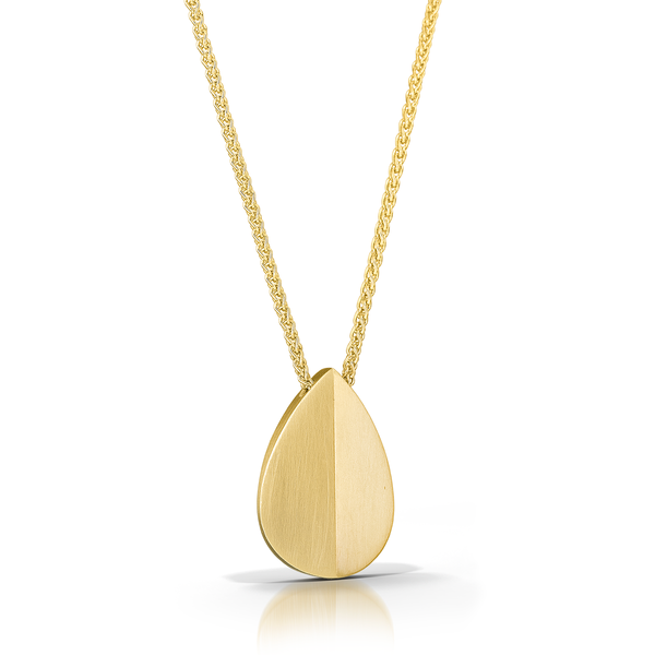 14K Leaf Necklace