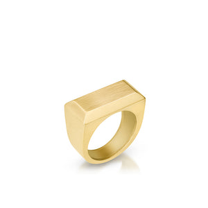 14K Ingot Ring