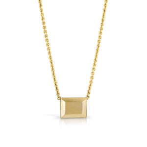 14K Little Ingot Necklace