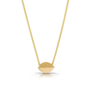 14K Little Seed Necklace