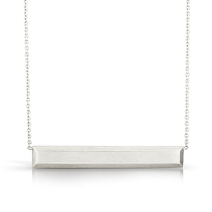 Ingot Bar Necklace