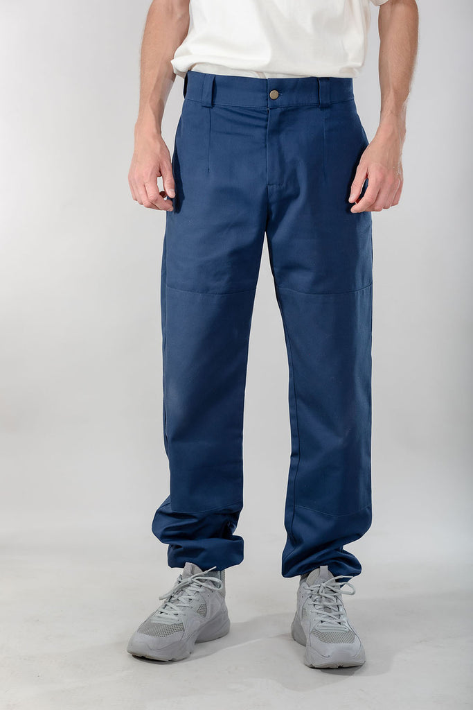 pants - cargo - navy blue - collab zürich