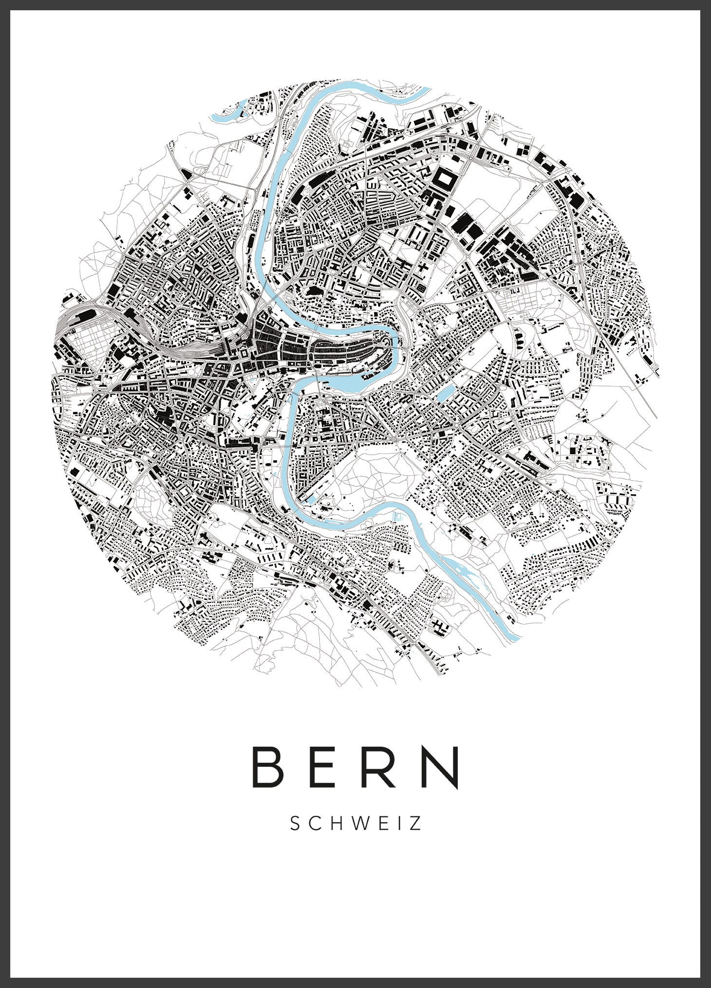 map - urbanhood - bern - collab zürich