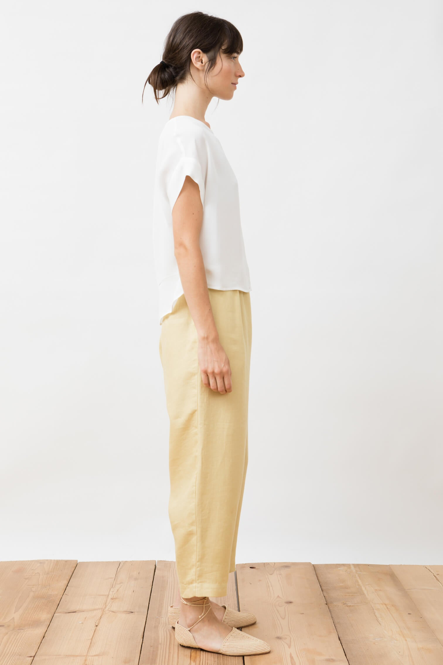 trousers - viento - straw