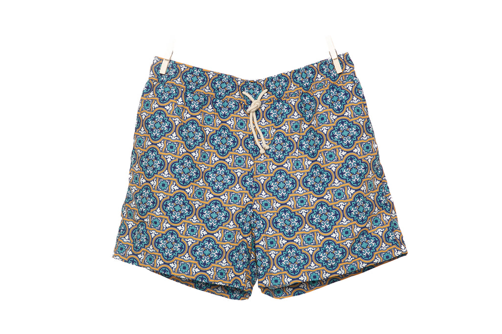 swim shorts - panarea - collab zürich