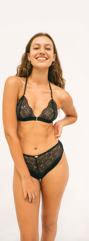 bralette - beverly t-bar