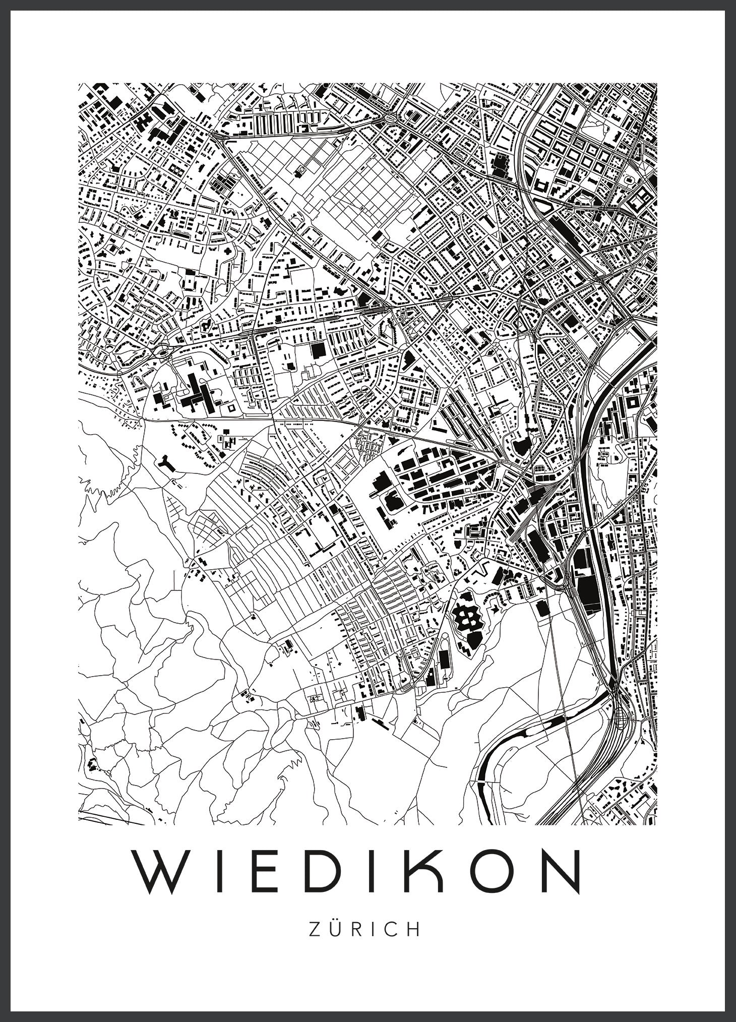 map - urbanhood - züri wiedikon - collab zürich