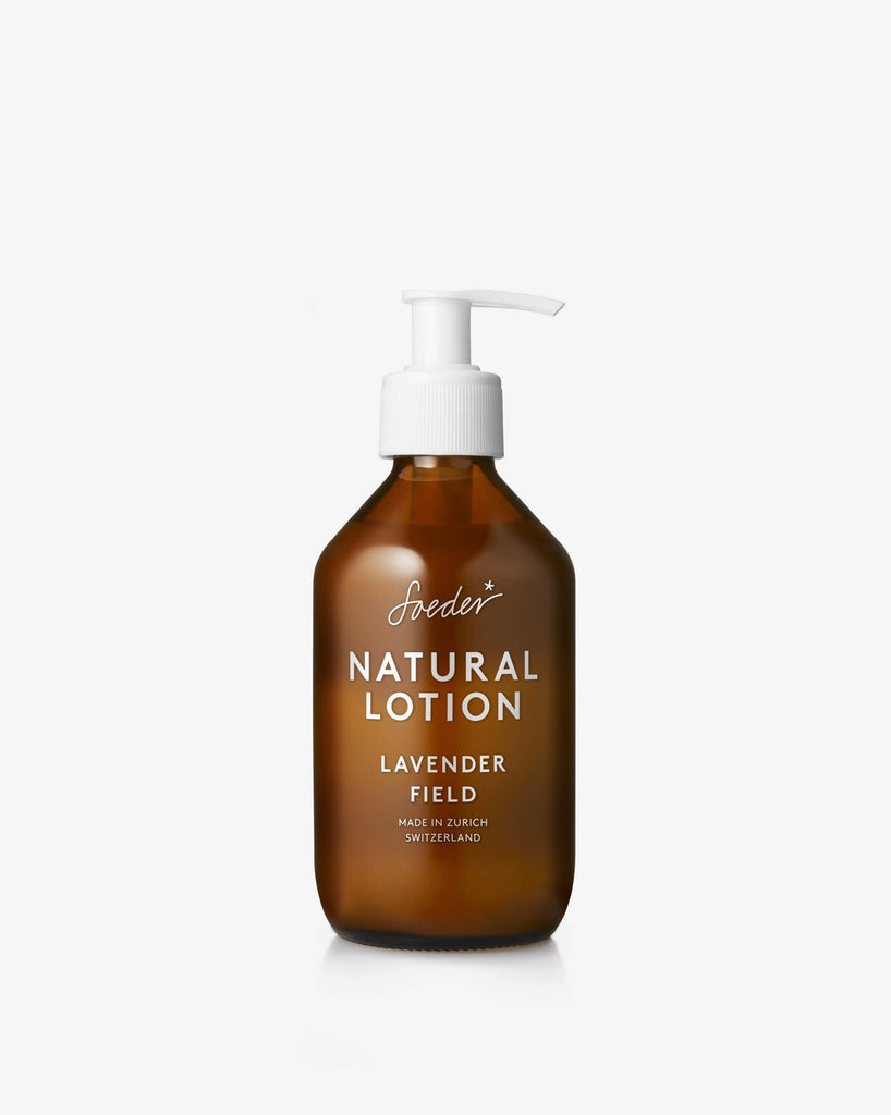 natural lotion - lavender field - 250ml - collab zürich