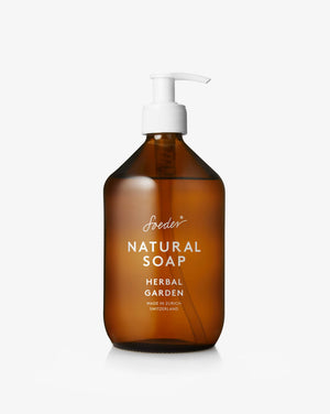 Open image in slideshow, natural soap - soeder - 250ml - collab zürich