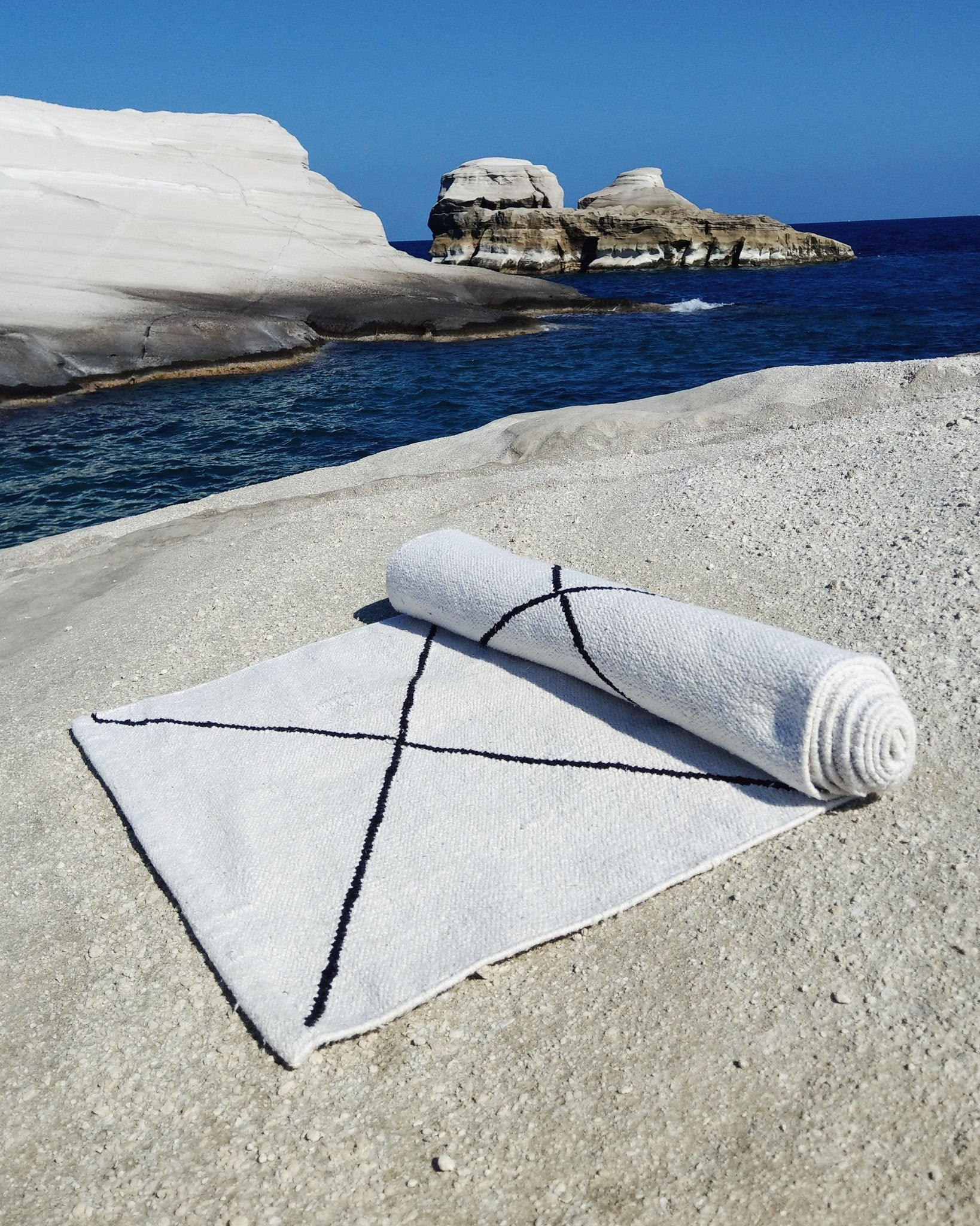 cotton yoga mat - yoma