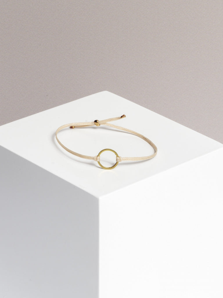bracelet - GEOMETRIC - circle - collab zürich