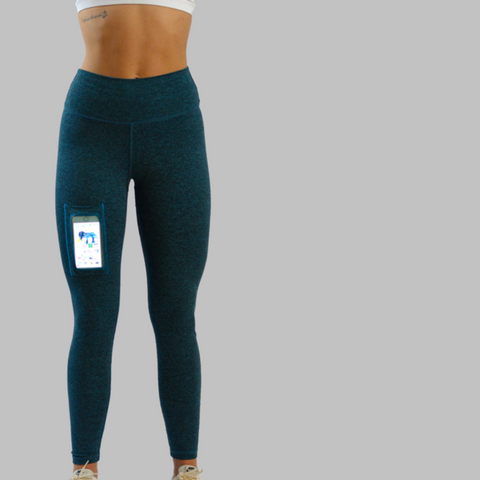 Cobalt Blue - Simplicity Heather Leggings