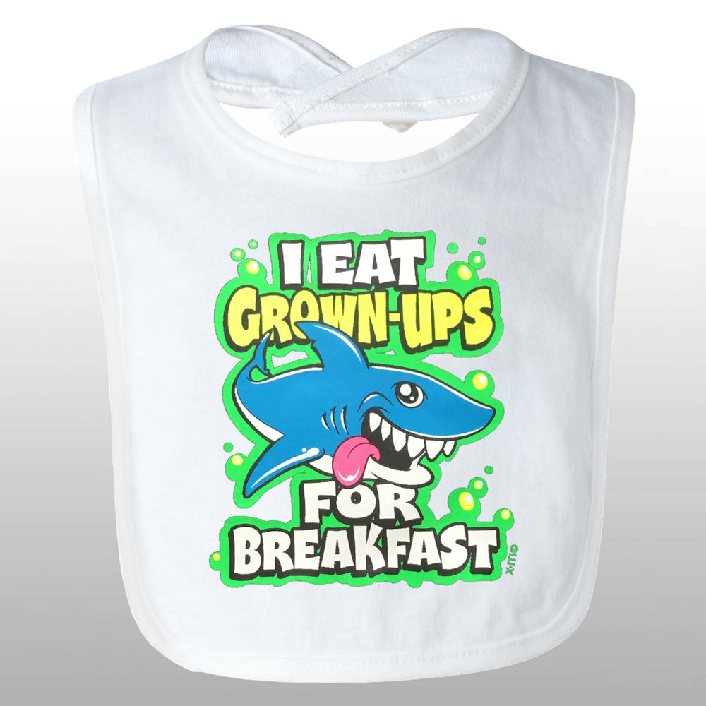 Eat Grown Ups Bib