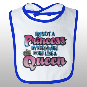 Like A Queen Bib
