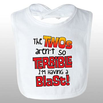 Terrible Twos Bib