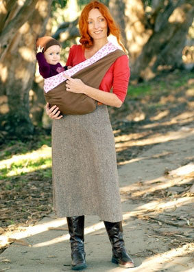 New Native 100% Organic Cotton Baby Carrier Factory Seconds