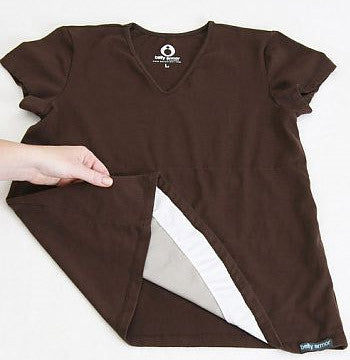 Belly Armor Radiation Protective Maternity Belly Tee by RadiaShield
