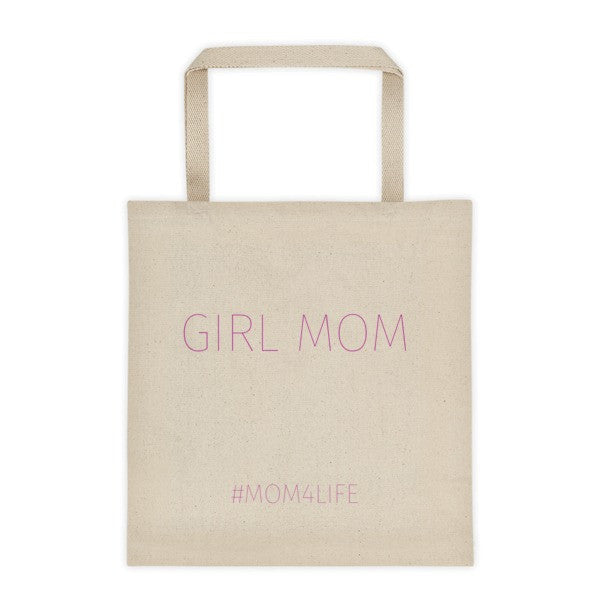 Mom 4 Life - GIRL MOM Tote bag