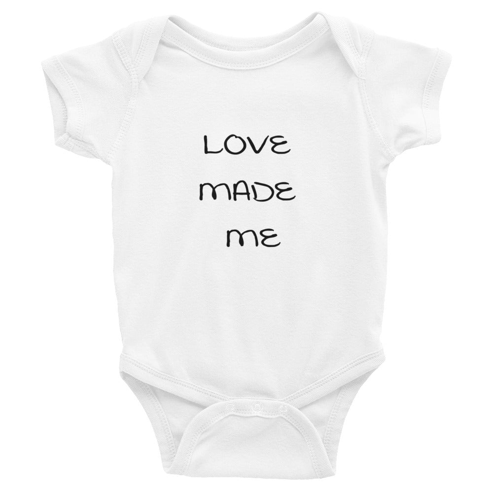 Love Made Me Infant Bodysuit