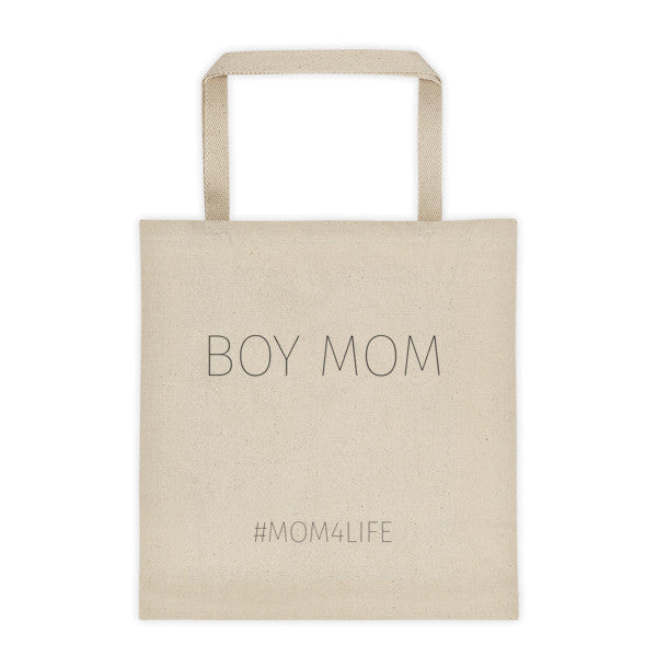 Mom 4 Life - BOY MOM Tote bag