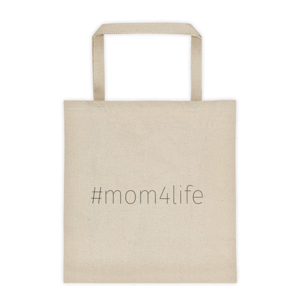 Mom 4 Life - # Tote bag