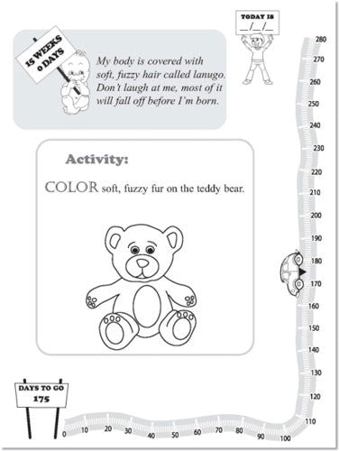 Making Me The Pregnancy Activity Book for My Big Brother or Sister by Motherly Way