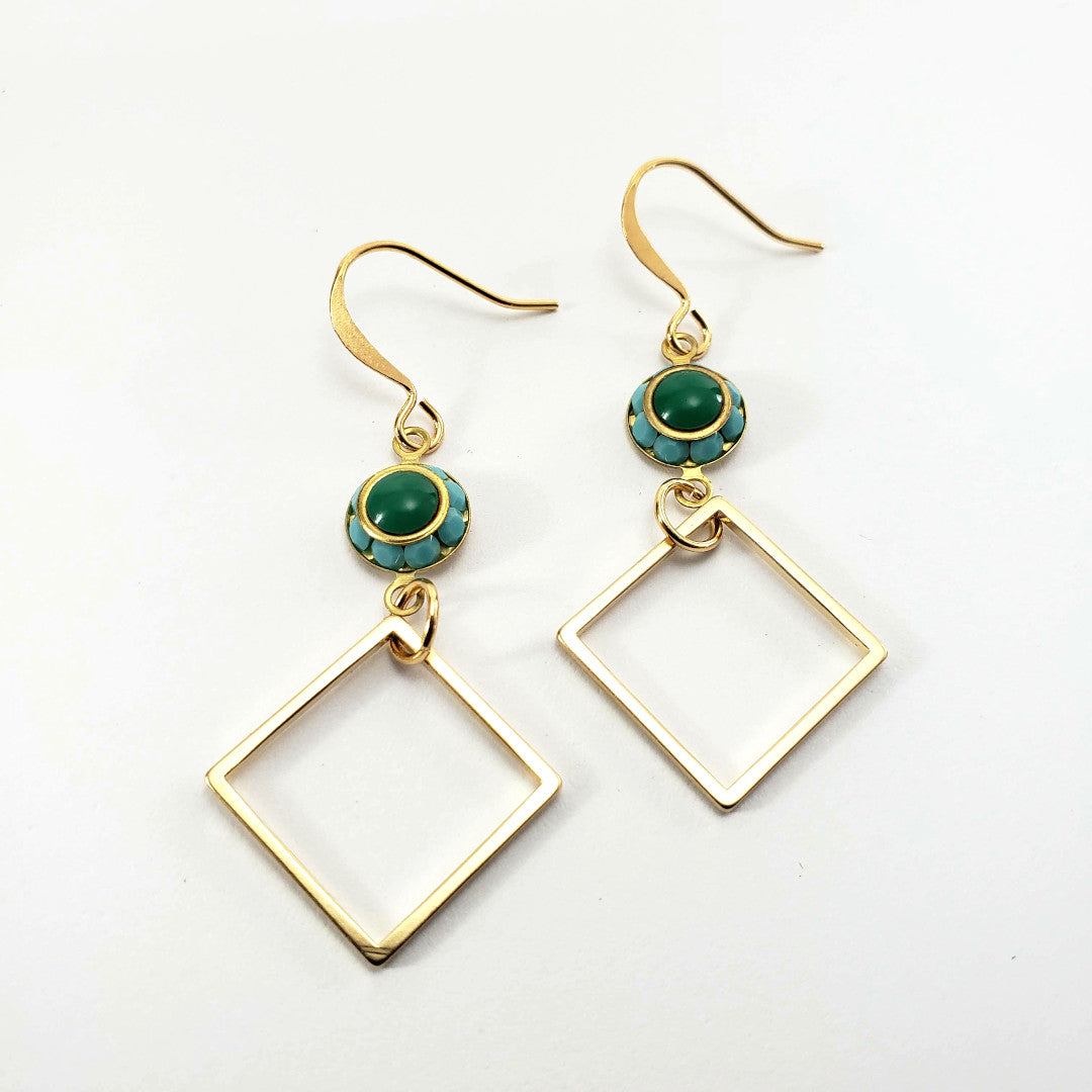 Vintage Swarovski Drop Earrings