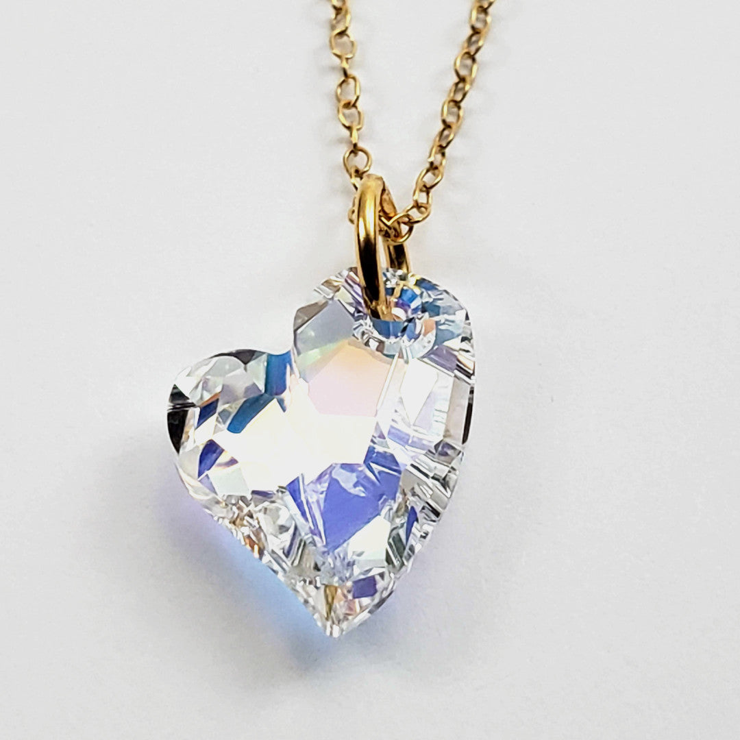 Verdier Crooked Little Heart Necklace