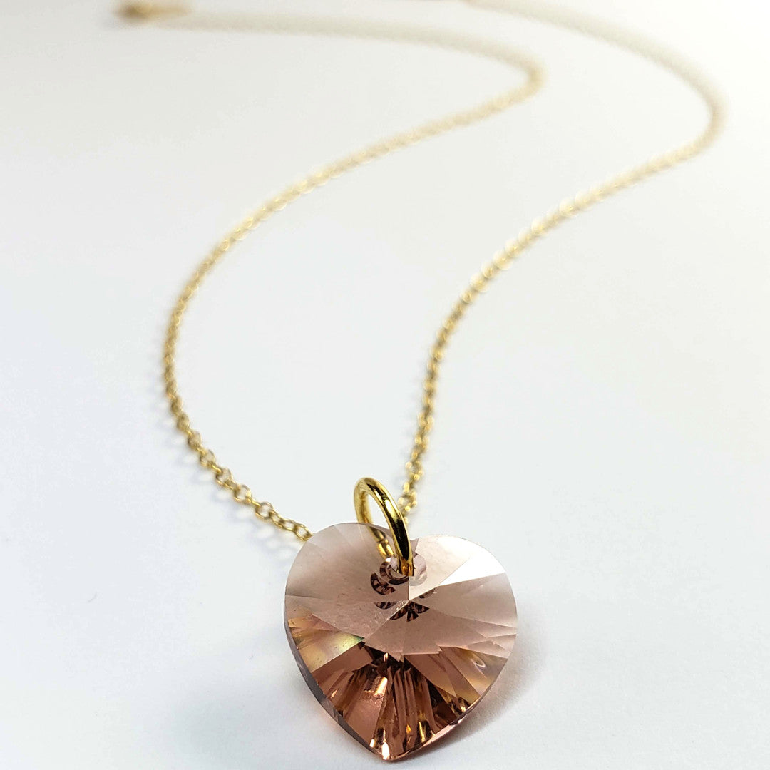 Verdier Heart's Blush Necklace