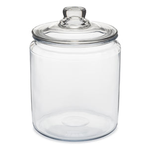 GLASS STORAGE JAR | with Lid