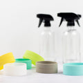 Spray Bottle Bands – Teal + Lime