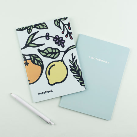 Mini Notebook – Citrus